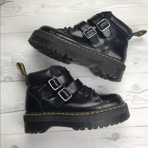 Doc Martens Black Byrony Boots SZ 10 Platform Rare
